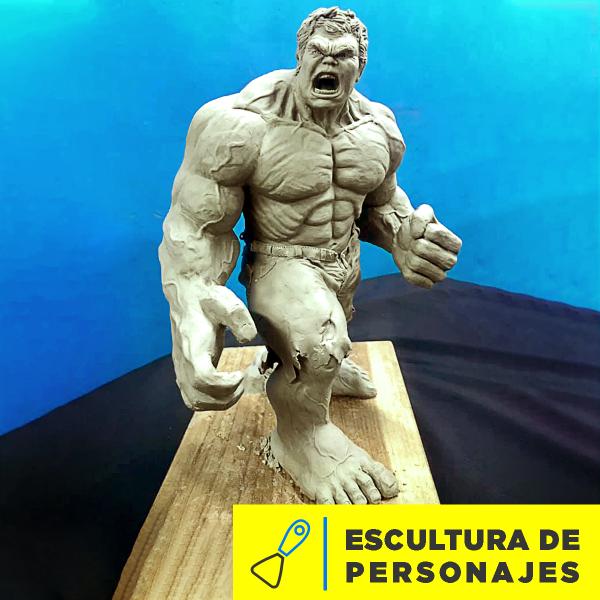 Escultura de Personajes Abril 2020 Imagen
