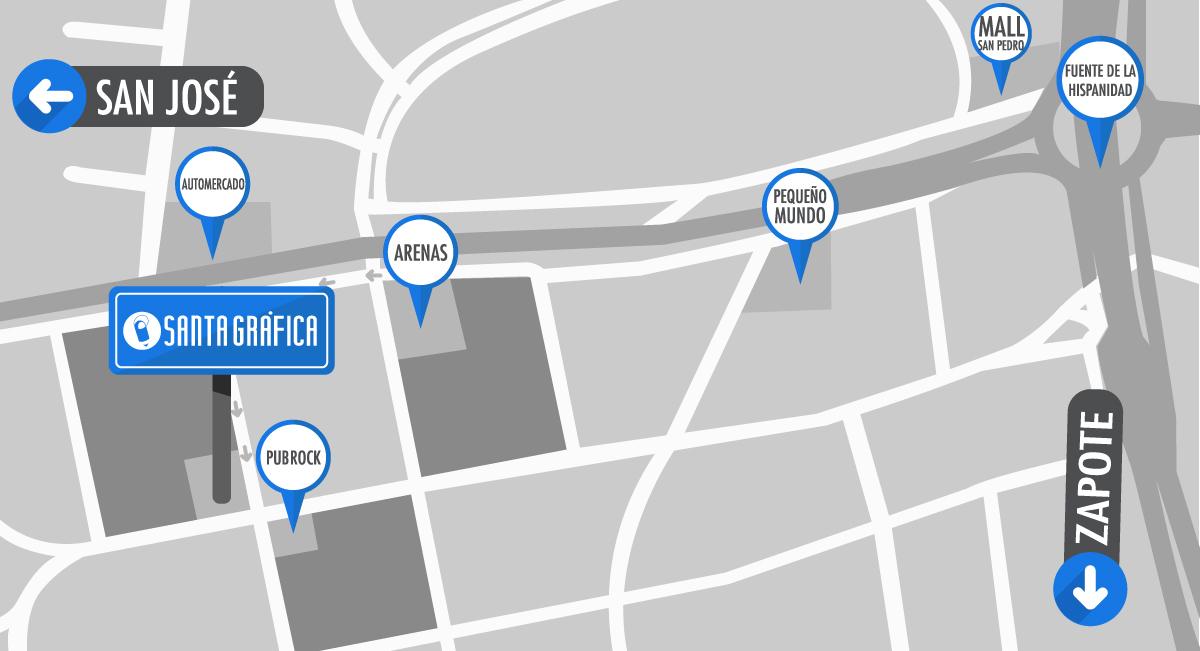 Mapa-SG-Los-Yoses