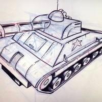 Obra realizda por el estudiante: Luis Soto