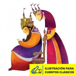 Ilustración para Cuentos Clásicosl Imagen