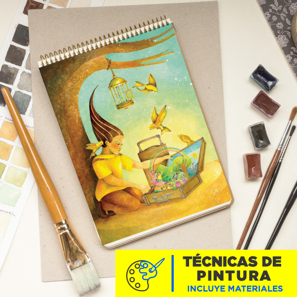 Técnicas de pintura Julio 2020 imagen