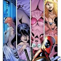 Comic DeadPool - John Timms