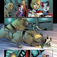 Comic Harley Queen- John Timms