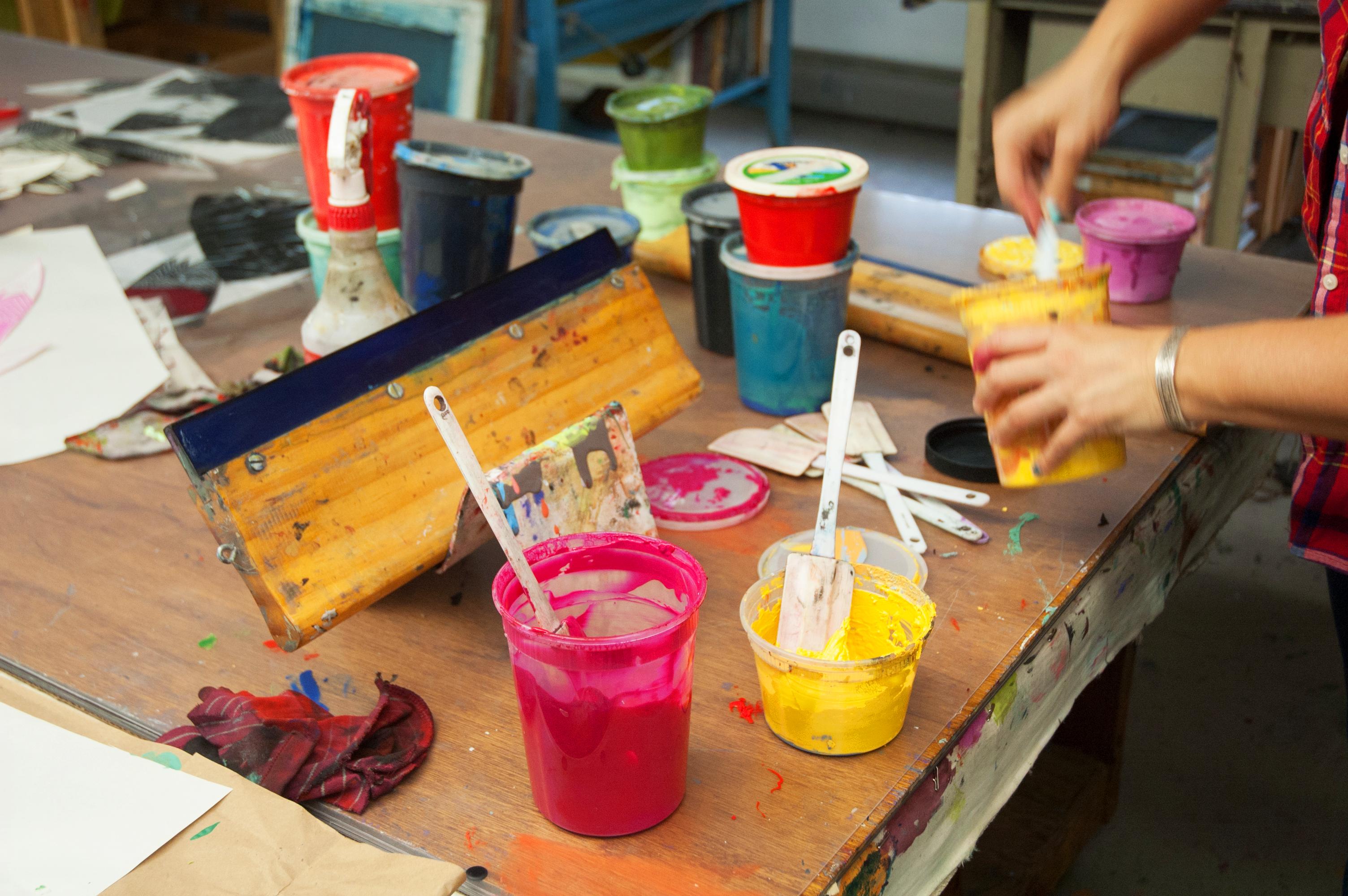Materiales para dibujo y pintura para principiante - Materiales de pintura de pared ...