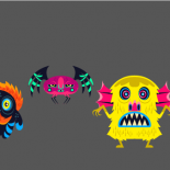 Diseño de personajes.