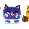 Diseños de personajes para Paper Toys.