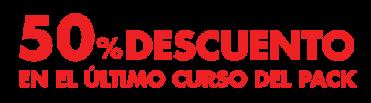 50 DE DESCUENTO