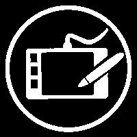 icono Artista digital
