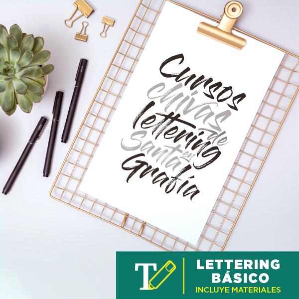 Lettering Básico Abril 2020 Imagen