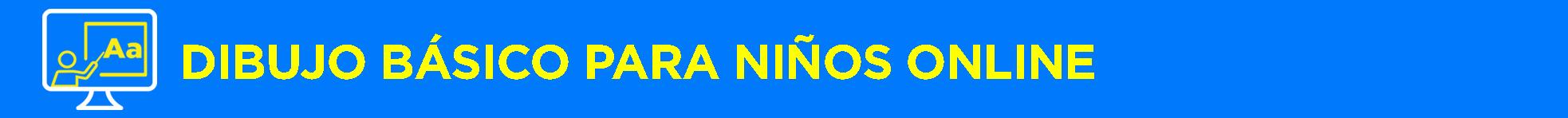 Banner título Dibujo básico para niños 2 Online