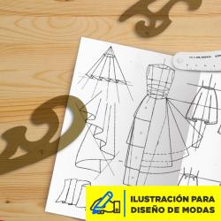 Ilustración para Diseño de Modas Imagen