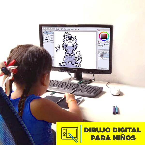 Dibujo Digital para Niños Abril 2020 Imagen