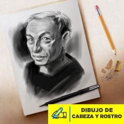 Dibujo de Cabeza y Rostro Imagen