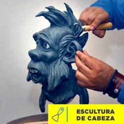 Escultura de Cabeza Imagen