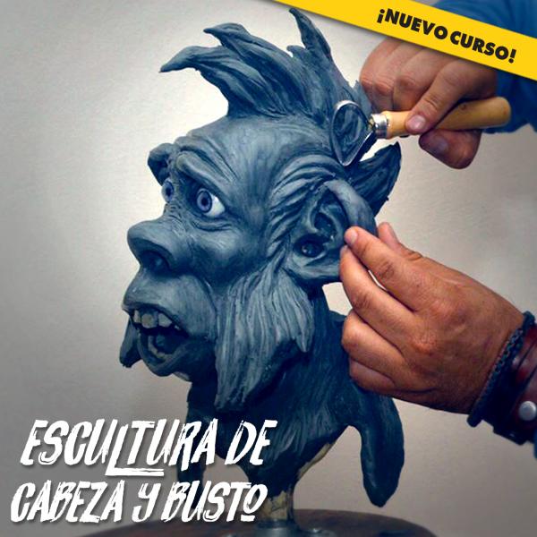 EsculturaCabezaRostro