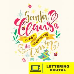 Lettering Digital Imagen