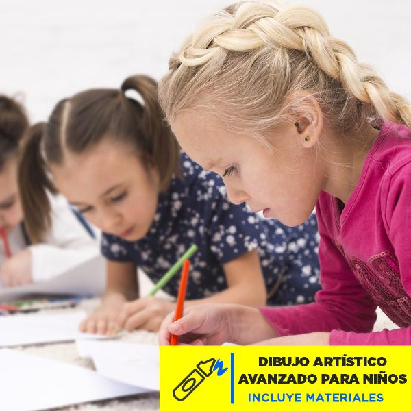 Dibujo Artístico Avanzado para Niños Imagen
