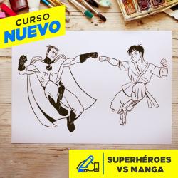 Superhéroes Vs Manga Imagen