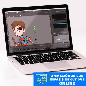 Animación 2D con énfasis en cut out online Imagen