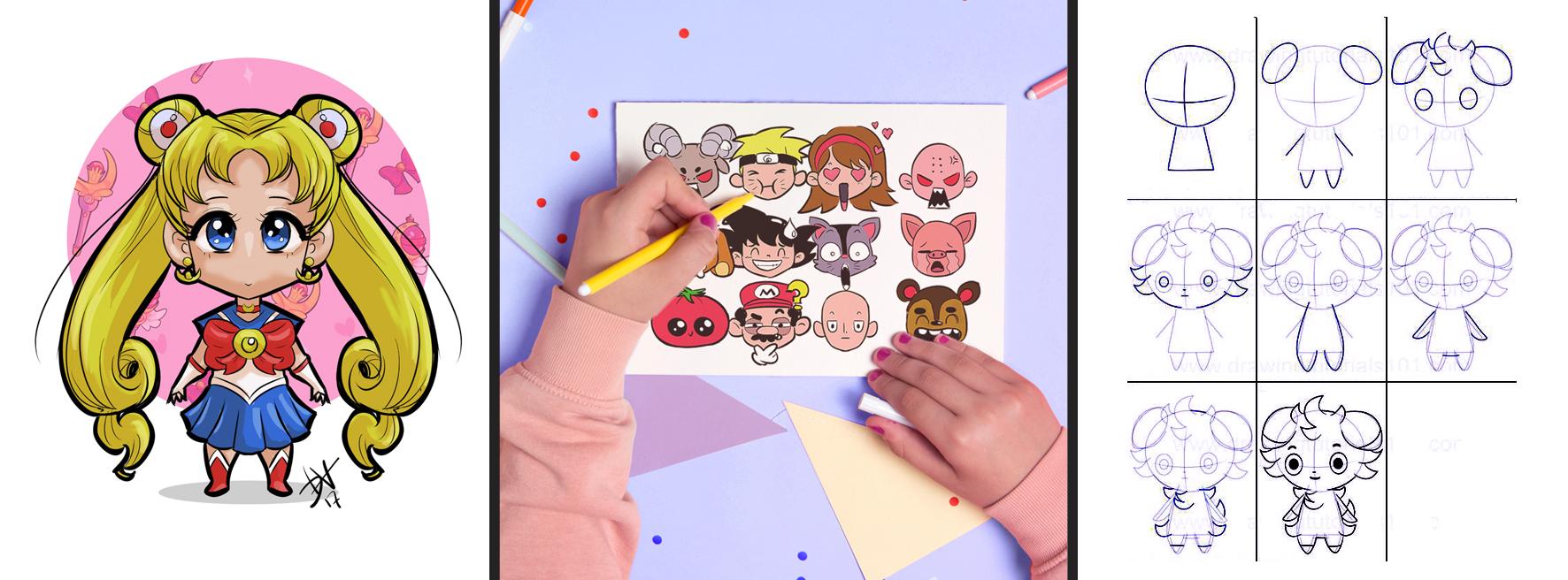Banner Manga para niños  general Santa Gráfica online