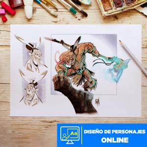 Diseño de Personajes online Imagen