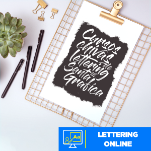 Lettering online Imagen