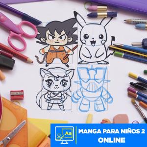 Manga para Niños 2 online Imagen