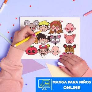 Manga para Niños online Imagen