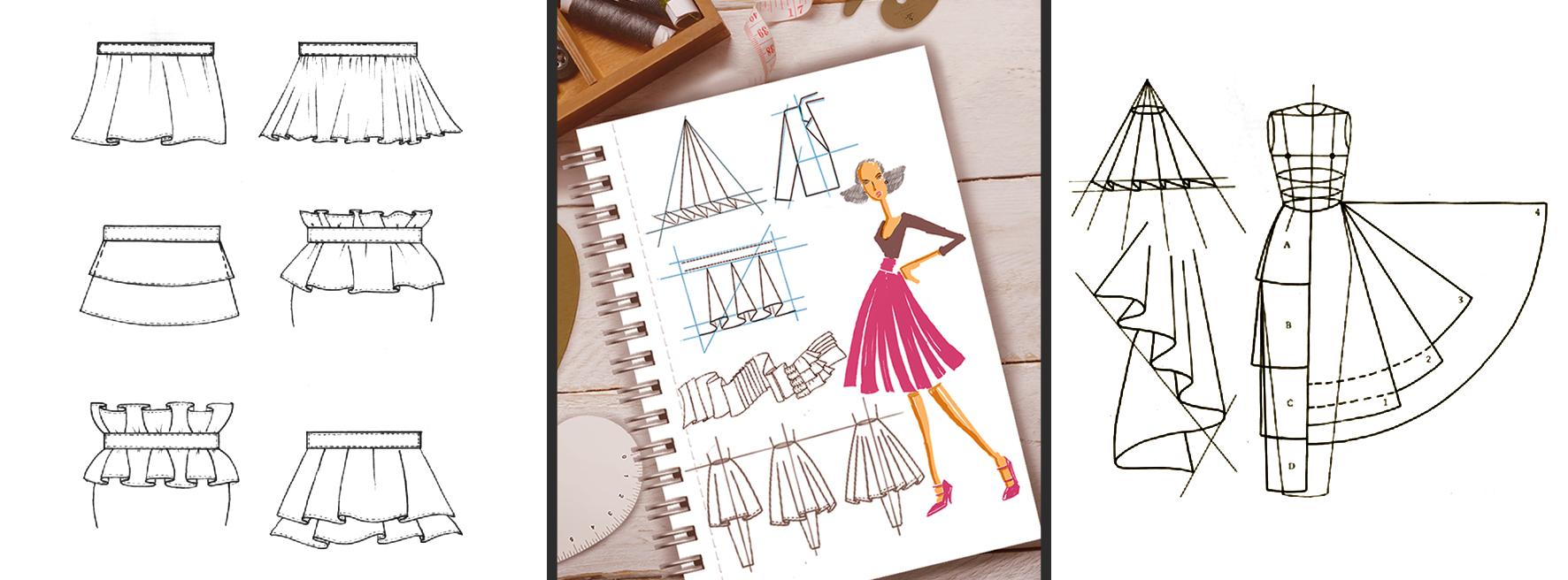 Banner Ilustración para diseño de modas general Santa Gráfica online