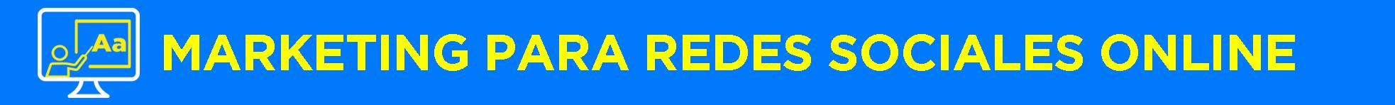 Banner título Marketing Online