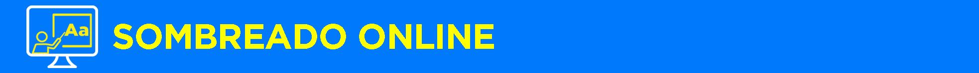 Banner título Sombreado Online