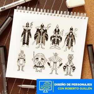 Diseño de Personajes Internacional 2 Imagen