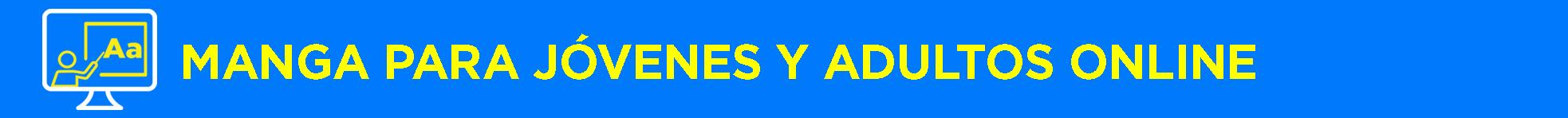 Banner título Manga para jóvenes y adultos Online