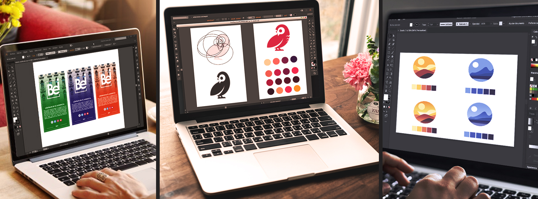 Banner Ilustrador para emprendedores online