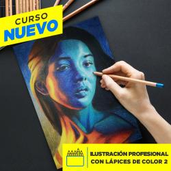 ILUSTRACIÓN PROFESIONAL A LÁPIZ DE COLOR 2
